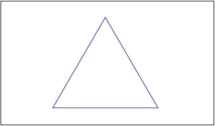 これは三角形のイデア(完全な三角形)であるか?