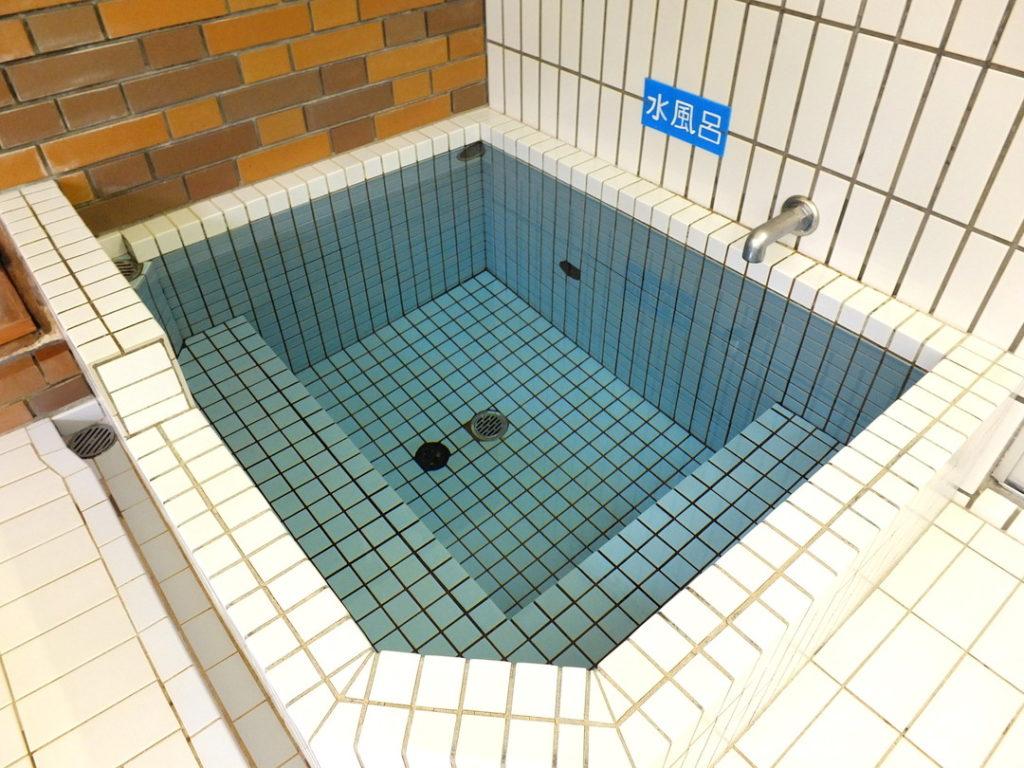 へいでん温泉の水風呂
