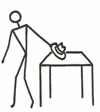 GDM英語教授法で使用する、Stick Figureの例③
